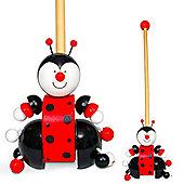Fiesta Crafts Ladybird Push Along