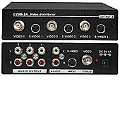 Cyp Cv-Sd3A Cv + S-Video and Audio Distributor