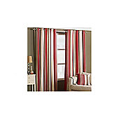 Value by Wayfair Lupine Lined Ring Top Curtain - 229 cm W x 229 cm H - Raspberry