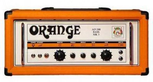 Orange AD 200 Watt Bass Head