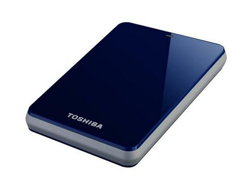 Toshiba Stor.e Canvio 1000GB Hard Drive (5400rpm) 2.5 inch External (Blue)