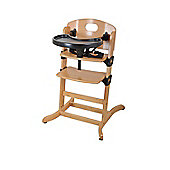 Contour Multi-height Highchair Natural