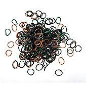 Jacks Camouflage Bracelet Refill Pack - 250 Loom Bands