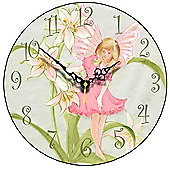 Smith & Taylor Pink Fairy Wall Clock