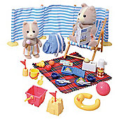 Sylvanian Day At The Seaside Set