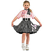 Rock'n'Roll Girl - Child Costume 8-9 years