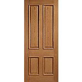 LPD Doors Galicia Oak Interior Fire Door - 198.1 cm H x 83.8 cm W x 4.4 cm D