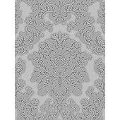 Vicenza Damask Wallpaper - Grey - Arthouse 270401