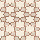 Tropics Rio Geometric Wallpaper - Copper - Arthouse 690700