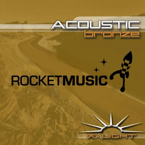 Rocket Bronze Acoustic String Set-Extra Light