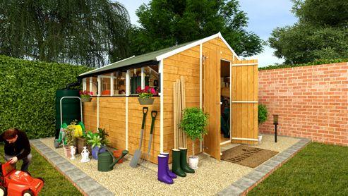 Info tesco direct garden sheds for Garden shed tesco