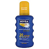 Nivea Sun Moisturising Spray SPF20 200ML