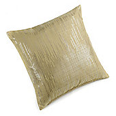 Divine by Design Silver Linen Filled Cushion Case - Lime