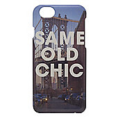 Tortoise™ Hard Protective Case, iPhone 6, Same Old Chic written over the Brooklyn Bridge, Multi.