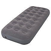 Tesco Flocked Single Air Bed with Foot Pump