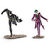Schleich Justice League Batman vs The Joker Scenery Pack