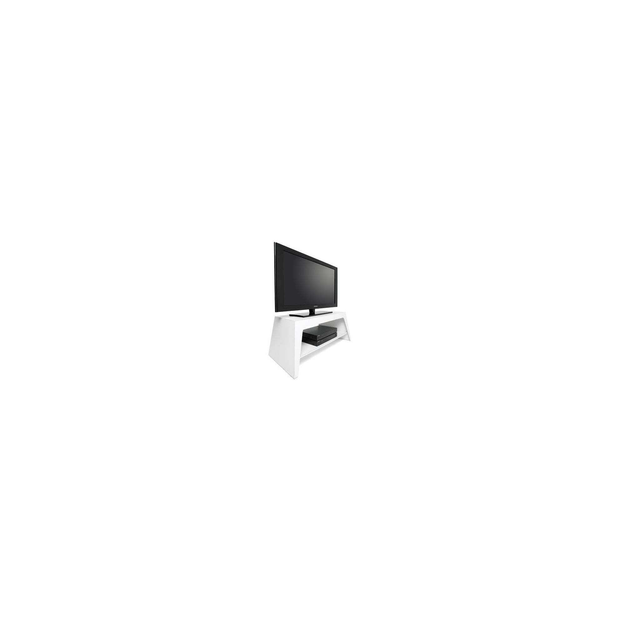 Mor Colorado TV Stand - High Gloss White at Tesco Direct
