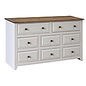 Home Essence Capri 6 Over 2 Drawer Chest