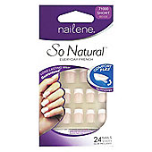 Nailene So Natural Artificial Nails Short 71000