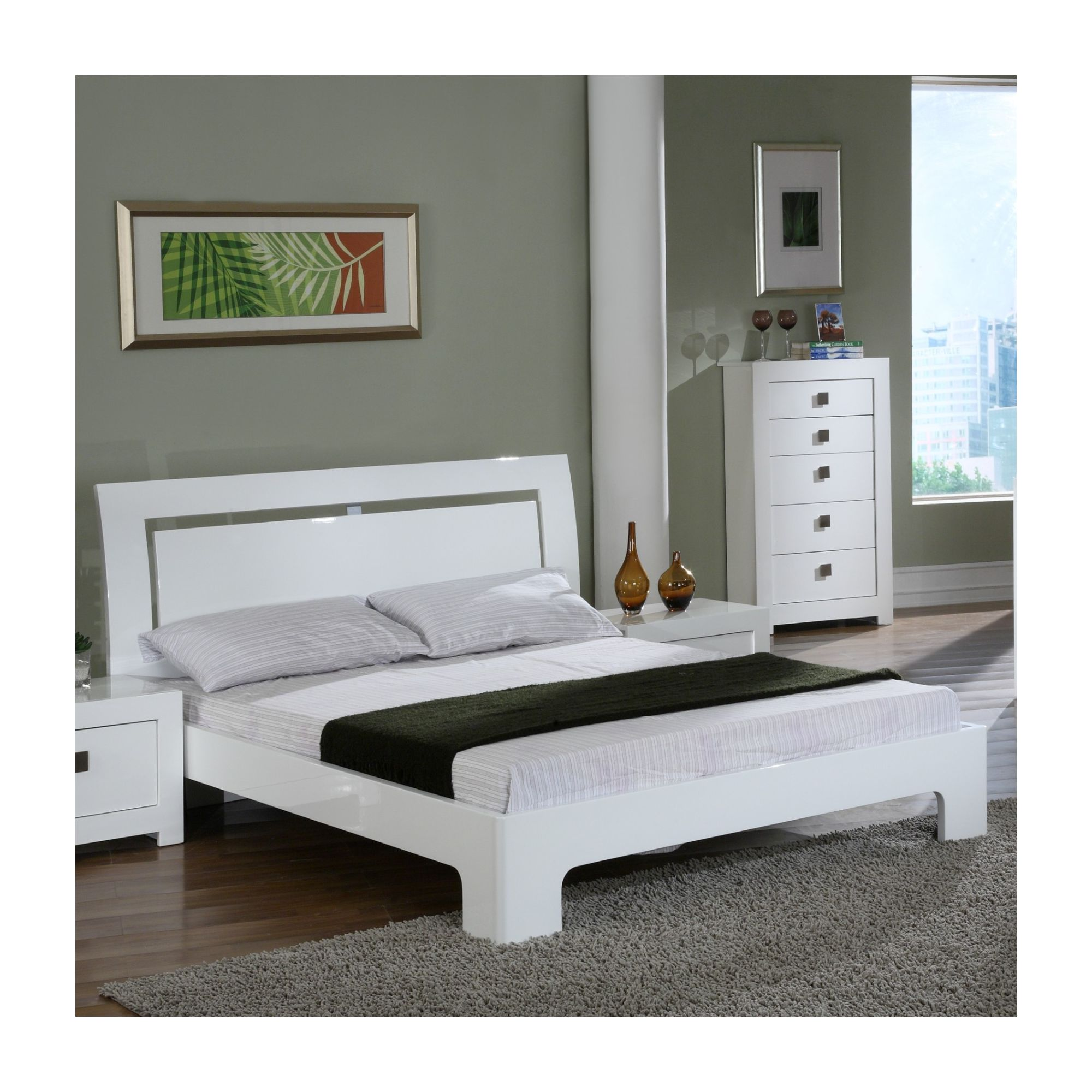 World Furniture Bari Bed Frame - Double at Tesco Direct