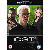 CSI Vegas: The Complete Season 14 1Disc DVD