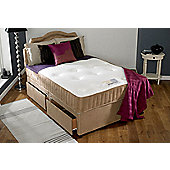 Home & Haus Luxury Orthopaedic Divan Bed - Small Double - With 2 drawer