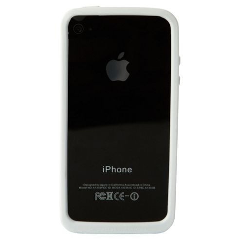 iLuv Edge Flexi Case iPhone 4/4S White