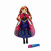 Disney Frozen Magical Story Cape Doll - Anna