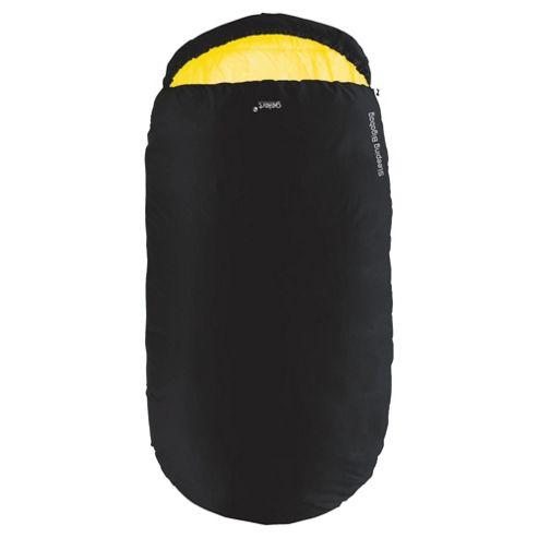 Gelert Bigabag Adult Sleeping Bag, Black