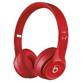 Beats Solo 2 Over-the-ear overhead headphones , Red