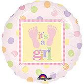 18' Baby Steps Girl Foil (each)