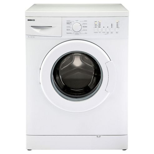 Beko WMB51221W Washing Machine, 5kg Wash Load, 1200 RPM Spin, A+ Energy Rating. White