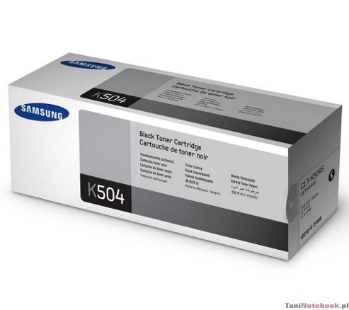 Samsung K504S Black Toner Cartridge (Yield 2500 Pages) for CLP-415NW/CLX-4195FW Colour Laser Printers
