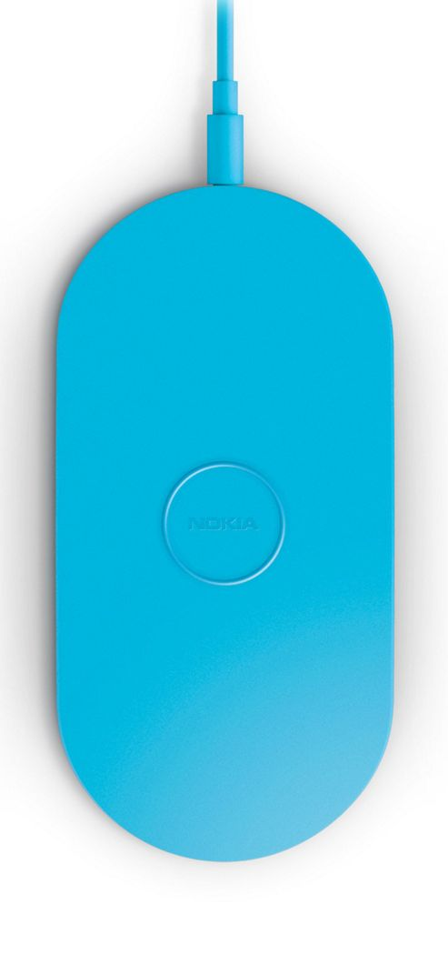 Nokia DT-900 Wireless Charging Plate for Nokia Lumia 820/920 - Blue