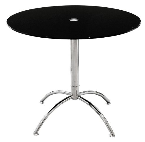 Home Essence Luna Dining Table - Black