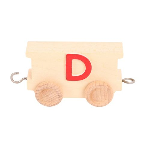 Bigjigs Toys BJ201D Name Train Letter D