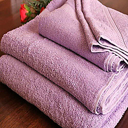 Homescapes Turkish Cotton Lilac Face Towel