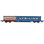 Hornby R6536 KFA Container Wagon with Tanktainer 00 Gauge