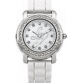 Lipsy Ladies Crystal Set Stainless Steel Watch - LP095