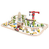 Bigjigs Rail BJT019 Construction Train Set