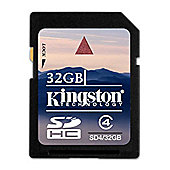 Kingston 32GB SDHC Card