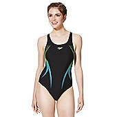 Speedo Endurance®10 Racerback Swimsuit - Black