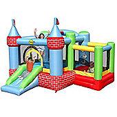 Bouncy Castle with Farmyard Ballpool