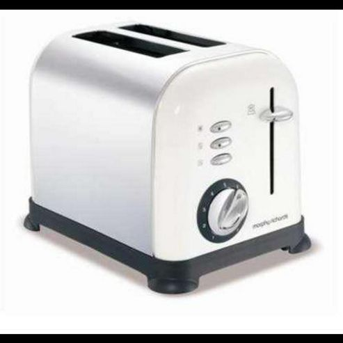 Morphy Richards 44325 Accents 2 Slice Toaster White