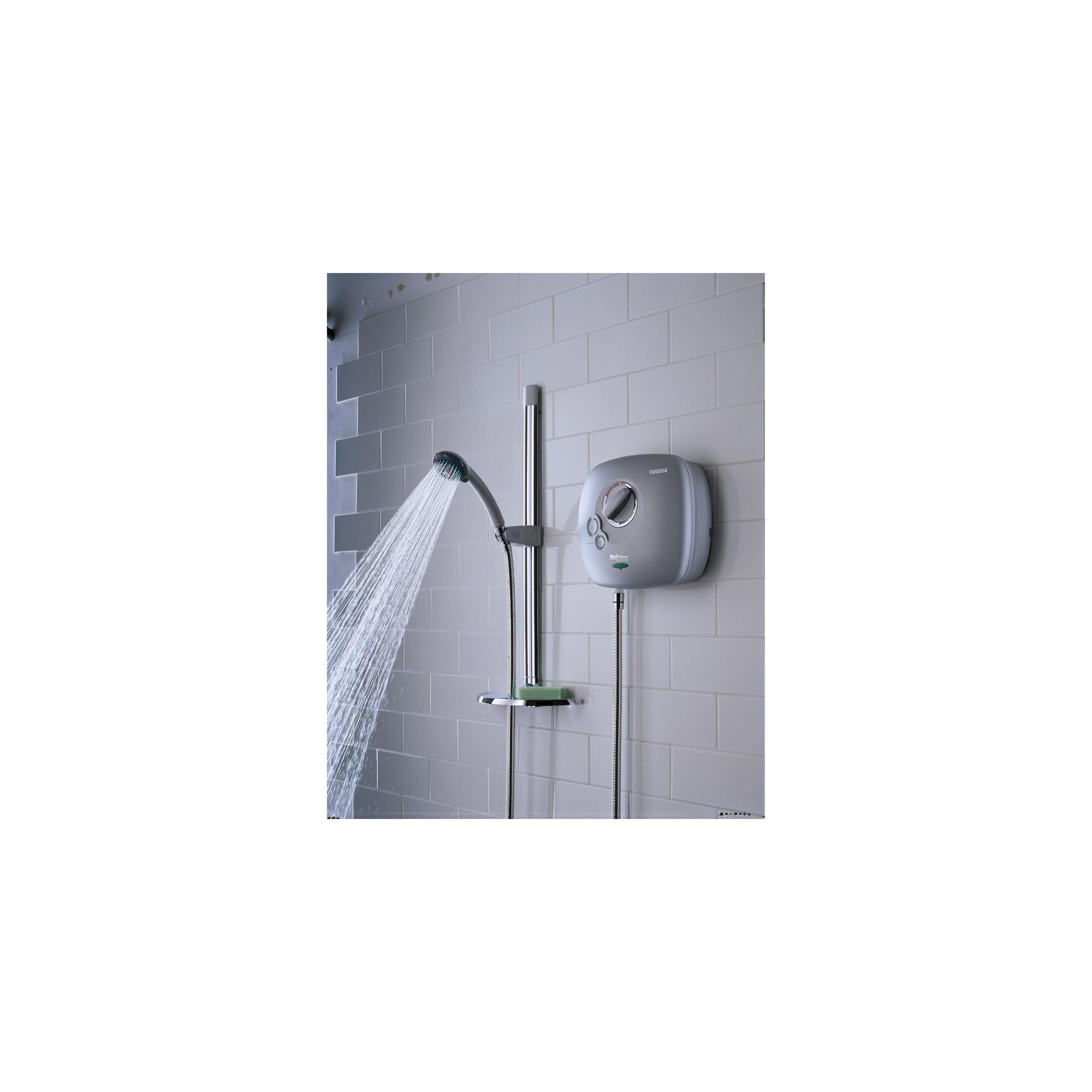 Bristan Hydropower Thermostatic Power Shower Matt Chrome at Tesco Direct