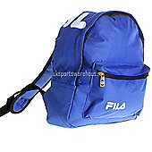 Fila Marshall Mini Kids backpack / School bag / Ruck Sack 30 x 25 x 12cm Blue