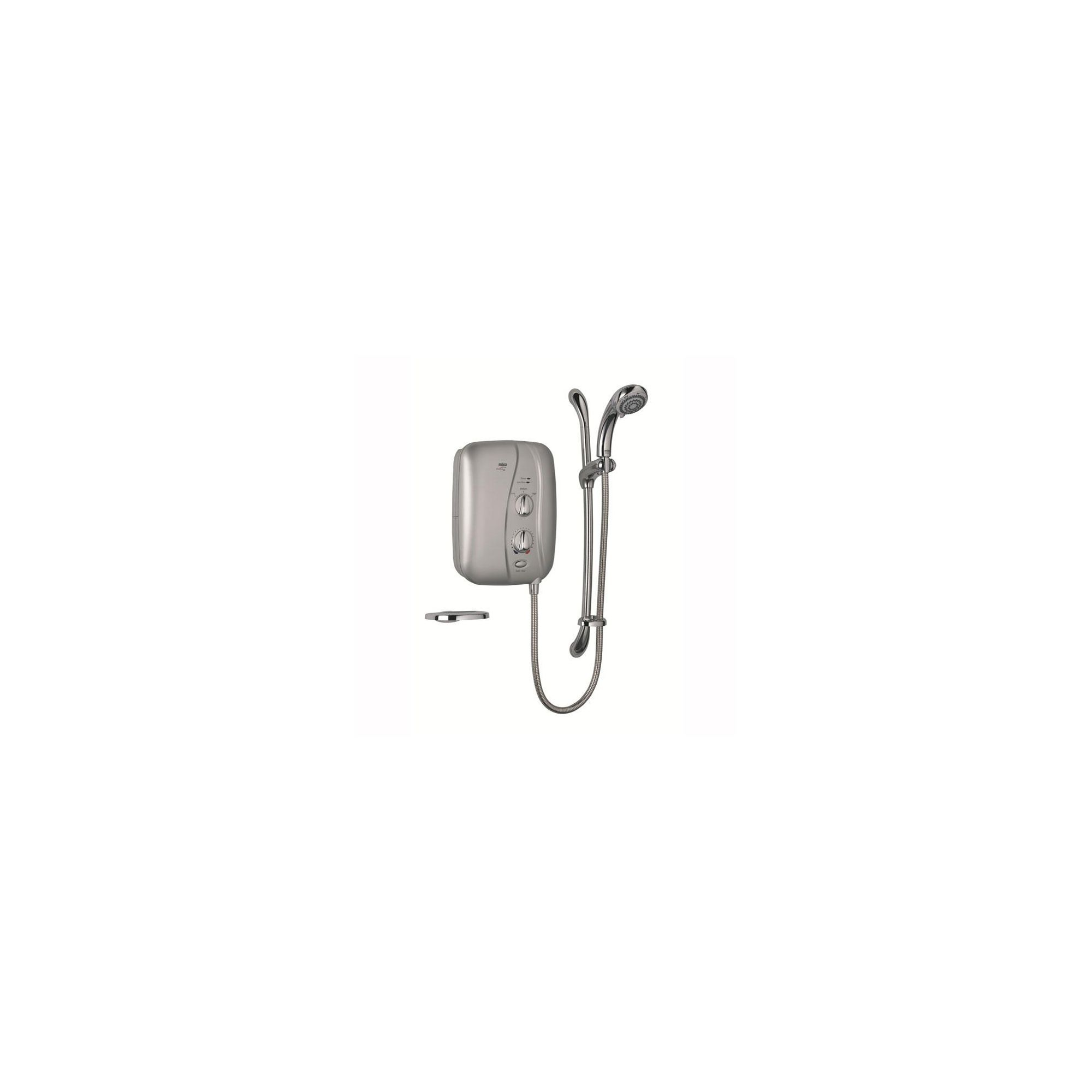 Mira Elite ST 9.8 kW Electric Shower with Sensi-Flo, Satin Chrome at Tesco Direct