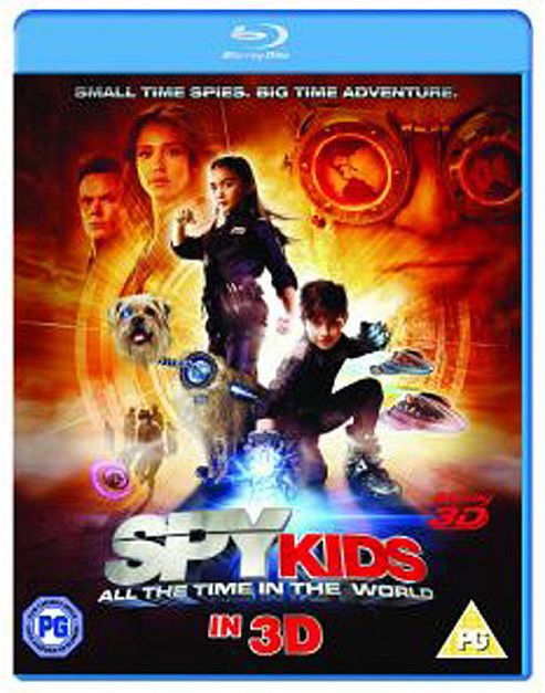 Spy Kids 4: All The Time In The World (3D Blu-ray)