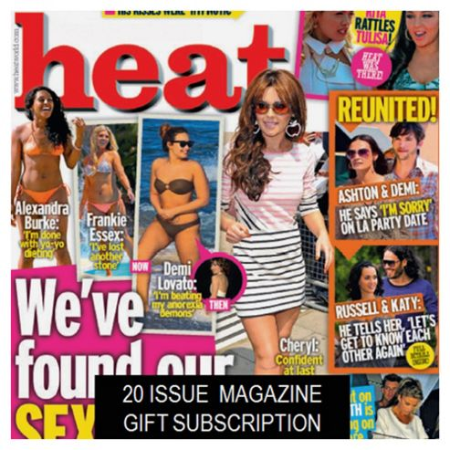 Heat Subscription Gift Pack