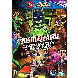 LEGO DC Justice League: Gotham City Breakout DVD